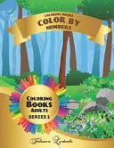 Coloring Books   Color By Numbers   Adults
