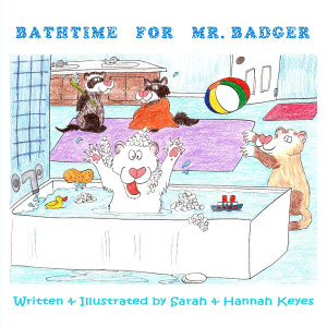 Bathtime for Mr  Badger