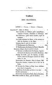 Histoire de France: Volume1