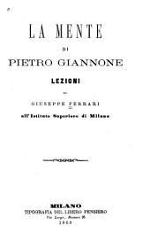 La mente di Pietro Giannone
