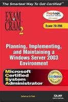 MCSA MCSE Planning  Implementing  and Maintaining a Microsoft Windows Server 2003 PDF