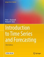 Introduction to Time Series and Forecasting: Edition 3