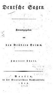 Deutsche Sagen: Band 2