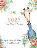 2020 One Year Planner Agenda Planner with Holiday Personal Appointment