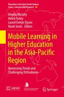 Mobile Learning in Higher Education in the Asia Pacific Region PDF