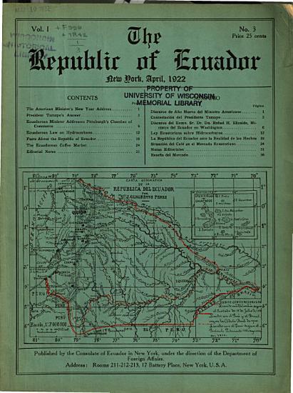 The Republic of Ecuador PDF