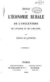 Essai sur l'économie rurale de l'angleterre, de l'écosse et de l'irlande