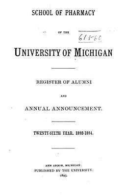 Announcements for Register of Alumni PDF