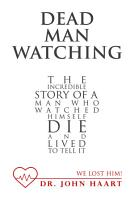 Dead Man Watching PDF