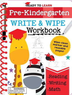 Ready to Learn  Pre Kindergarten Write and Wipe Workbook