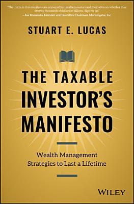 The Taxable Investor s Manifesto