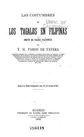 Las costumbres en los Tagalos en Filipinas