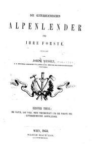 Die oesterreichischen Alpenlaender und ihre Forste     PDF