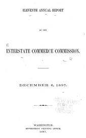 Annual Report of the Interstate Commerce Commission: Volumes 11-13