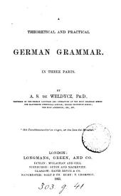 A theoretical and practical German Grammar