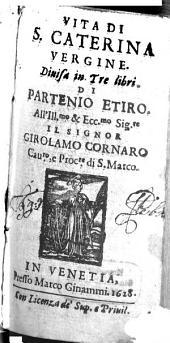 Vita de S. Caterina Vergine