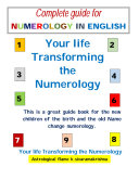 NUMEROLOGY :ULTIMATE GUIDE FOR NAME NUMEROLOGY IN ENGLISH
