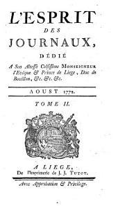 L'esprit des journaux, francais et etrangers: Volume17