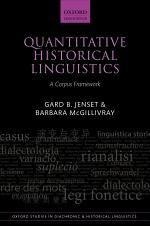 Quantitative Historical Linguistics