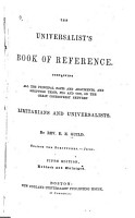 The Universalist s Book of Reference PDF