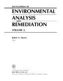Encyclopedia of Environmental Analysis and Remediation, Volume 2