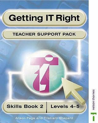 Getting It Right Teacher Support Packs 2 Levels 4 5 PDF