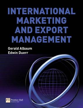 International Marketing and Export Management PDF
