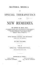 Special therapeutics