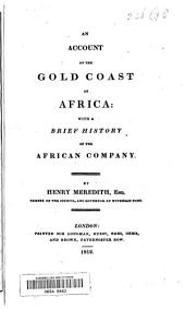 An Account of the Gold Coast of Africa: With a Brief History of the African Company