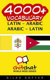 4000+ Latin - Arabic Arabic - Latin Vocabulary