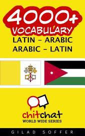 4000+ Latin - Arabic Arabic - Latin Vocabulary