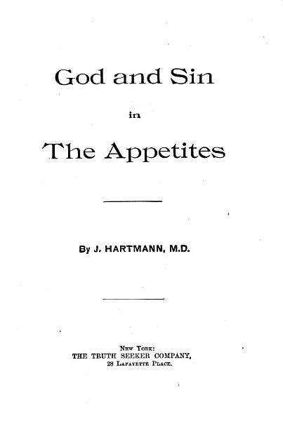 God and Sin in the Appetites