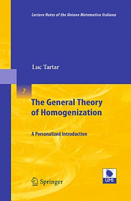The General Theory of Homogenization PDF