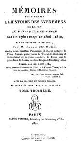 5. section, suite De la révolution française