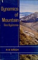 Dynamics of Mountain Geosystems PDF