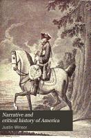 Narrative and Critical History of America PDF