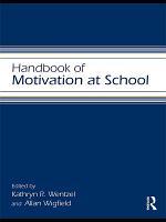 Handbook of Motivation at School PDF