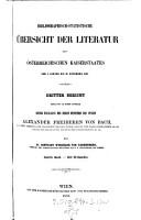 Bibliographisch Statistische Ubersicht der Literatur des Osterreichischen Kaiserstaates vom 1  Janner bis 31  December 1855 PDF
