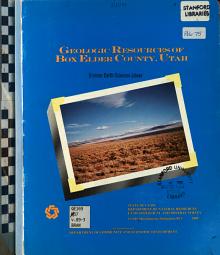 Geologic Resources of Box Elder County  Utah PDF