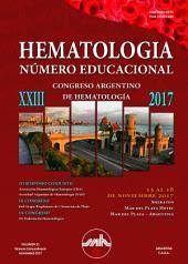 Hematologia: Volumen 21 - Extraordinario XXIII Congreso Argentino