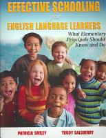 Effective Schooling for English Language Learners PDF