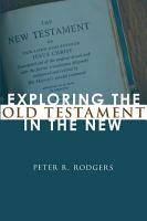 Exploring the Old Testament in the New PDF