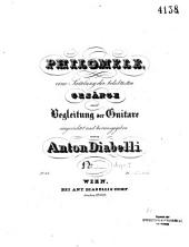Arie (Voi che sapete): aus der Oper: Le nozze di Figaro ; mit Begleitung der Guiatre