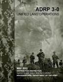 Adrp 3 0 Unified Land Operations PDF