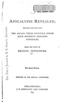 The Apocalypse Revealed PDF