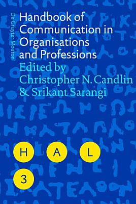 Handbook of Communication in Organisations and Professions PDF