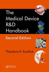 The Medical Device R D Handbook Second Edition Book PDF