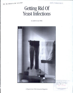 Getting Rid of Yeast Infections PDF