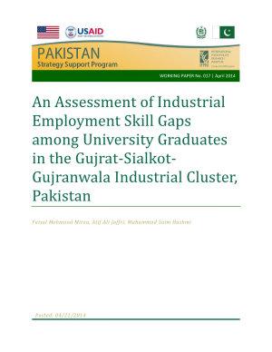 An assessment of industrial employment skill gaps among university graduates