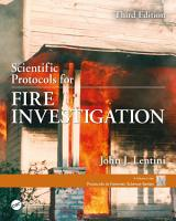 Scientific Protocols for Fire Investigation  Third Edition PDF